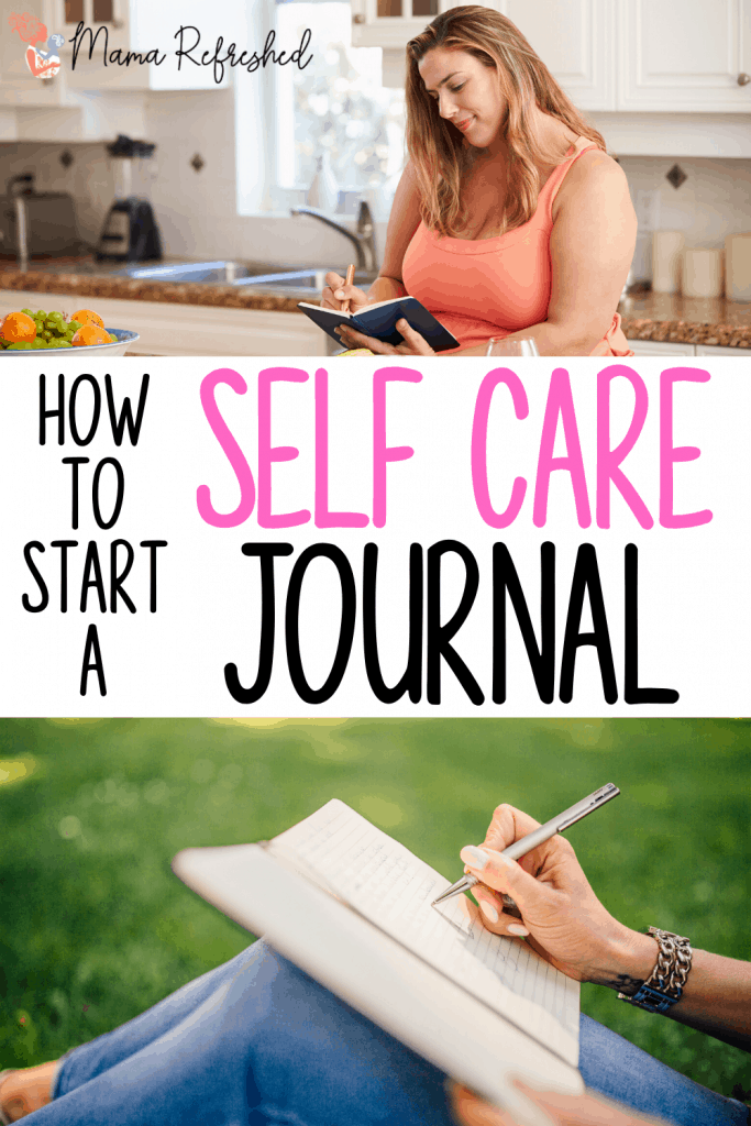 Learn how to start a self care journal that will promote good health and reduce your stress!