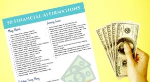 50 Financial Affirmations