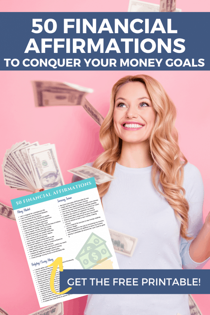 50 Financial Affirmations to Conquer your Money Goals