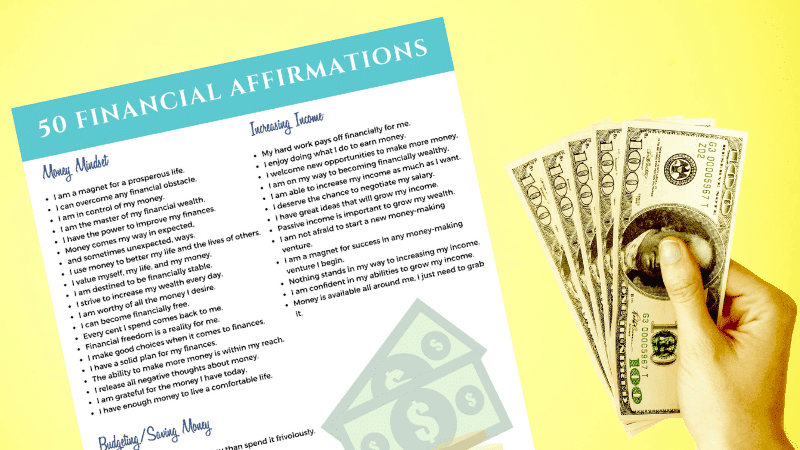 50 Financial Affirmations