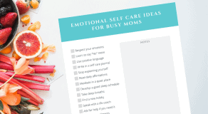 Emotional Self Care for Mom
